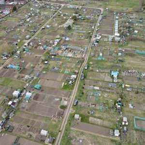 The Hope Centre - Allotment - Drone - arial photograph - northampton - JMH PhotoStories